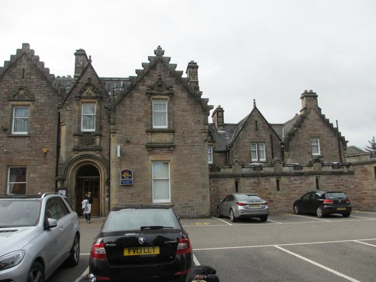 BEST WESTERN PLUS Inverness Lochardil House Hotel : Front view