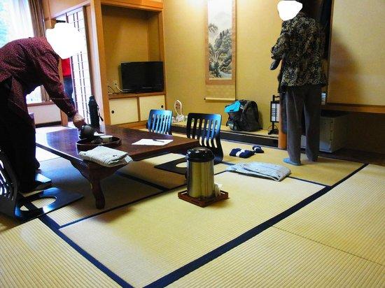 Shikanoyu Hotel : 客室和室