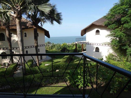 Les Alizes Beach Resort: Vue suite Azur