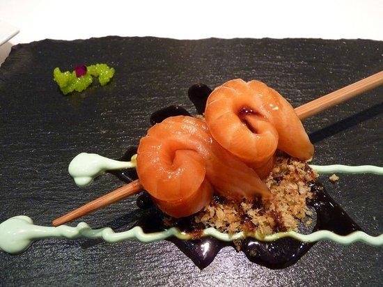 La Prensa: Salmón en sashimi