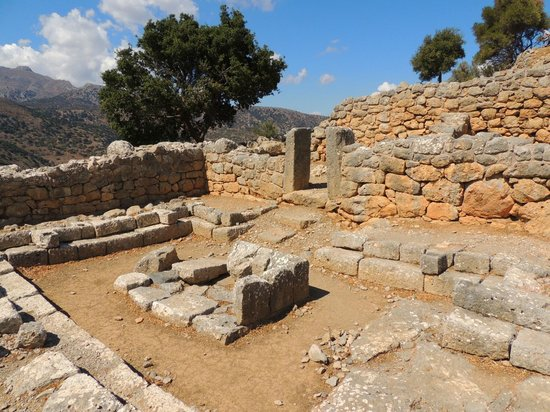 The remains of ancient Lato