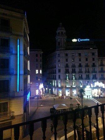 St Christopher's Inn Barcelona: View from the 3rd floor