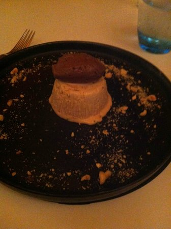 Blue Print Cafe : Dessert - Praline Parfait