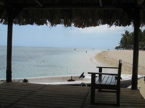 La Pirogue Resort & Spa: Le ponton