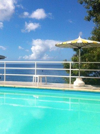 Evergreen Hotel: la piscine vue mer