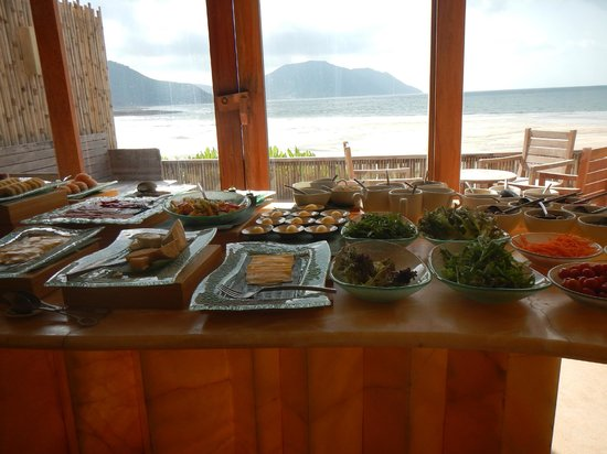 Six Senses Con Dao: Part of the Breakfast Bar