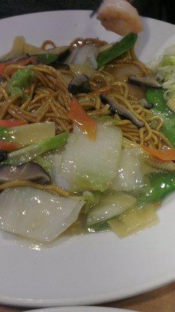 Chop Chop Noodle bar: Nudeln mit King Prawns