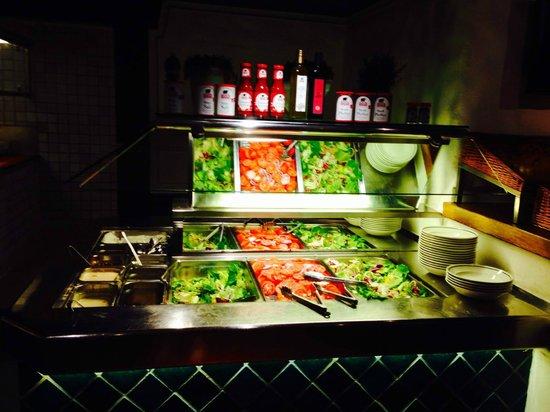 Block House Eberhardstrasse : Salat Buffet
