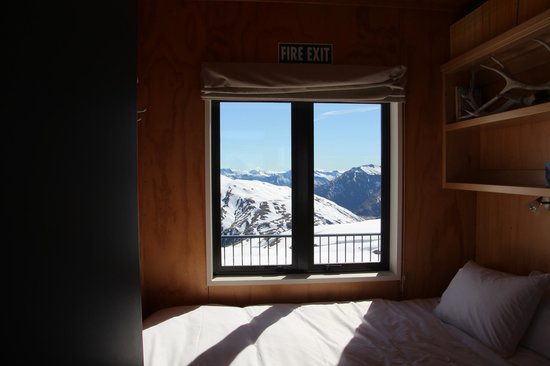 Whare Kea Lodge & Chalet : View from Chalet Bedroom