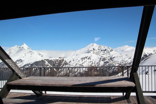Whare Kea Lodge & Chalet: View From Chalet