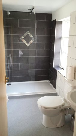 The Elephant & Castle Hotel: Bathroom in room 204