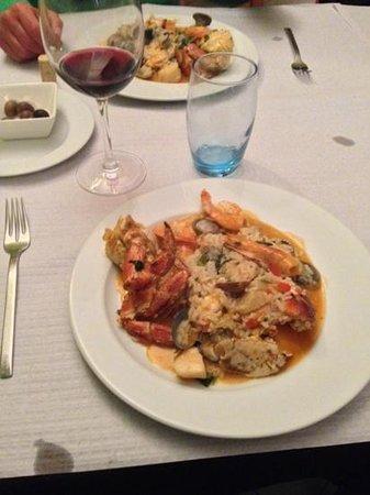 O Gimbras: The best seafood pot