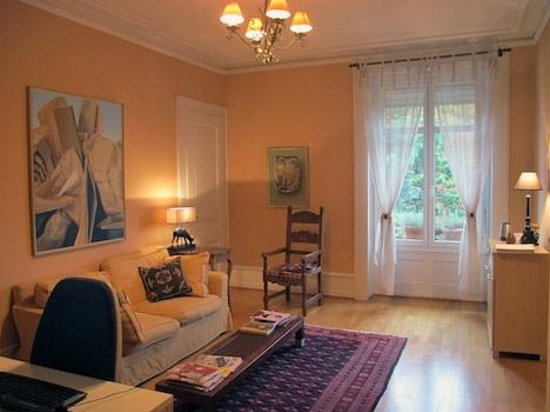 BnbLausanne.ch: Sitting room