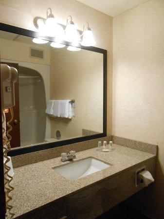 Quality Inn Stadium Area : Bathroom/Vanity