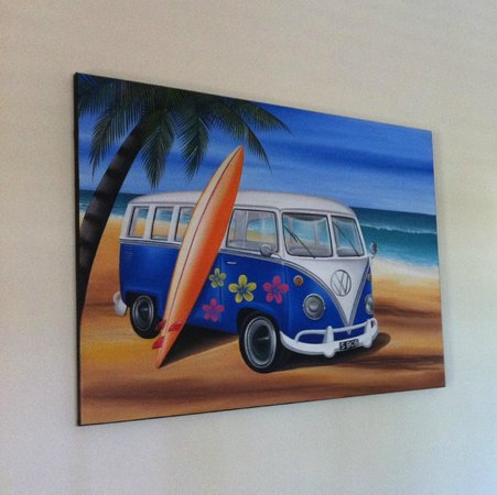 "Safety Beach Ocean Bungalows: Loved this pic of the iconic ""Kombi Van"""