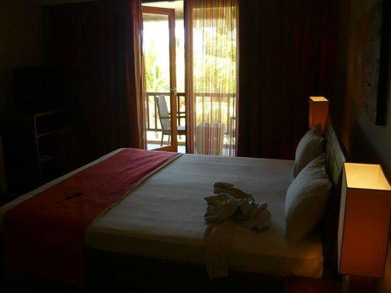 Veraclub Le Grande Sable: La camera, molto spaziosa e pulita!