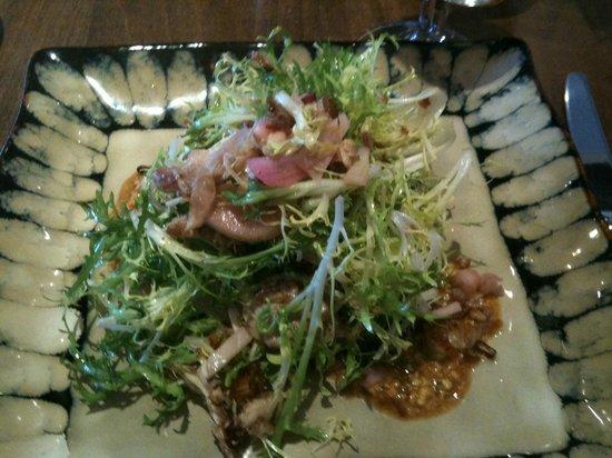 Volta Mediterranean Restaurant: Duck Confit Salad