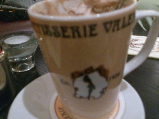 Patisserie Valerie: Hot chocolate in a mug