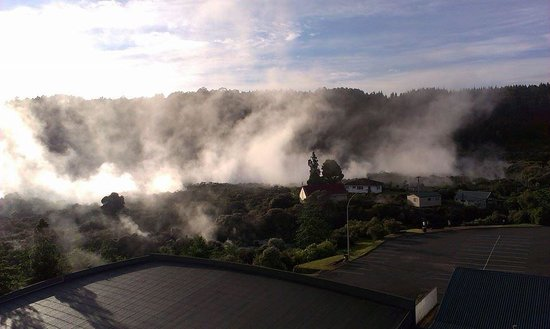 Holiday Inn Rotorua: A view from our room