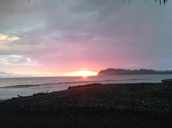Fenix Hotel - On The Beach: Sunset at the Fenix Hotel