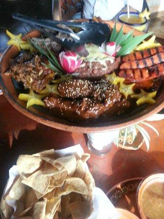 Hacienda el Divisadero: Esta fue nuestra comida! Exquisita!