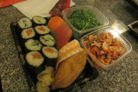 selection of our food picture of sushi factory dusseldorf tripadvisor. Black Bedroom Furniture Sets. Home Design Ideas