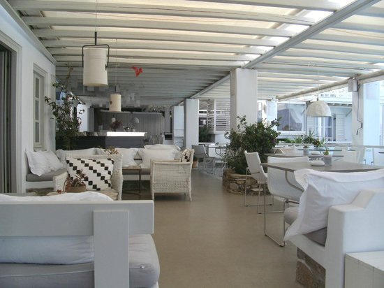 Semeli Hotel: Um dos espaços  destinado as refeições