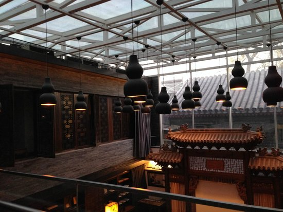 Shichahai Shadow Art Performance Hotel : Celling