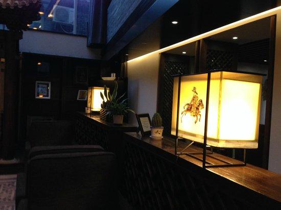 Shichahai Shadow Art Performance Hotel : Decorations