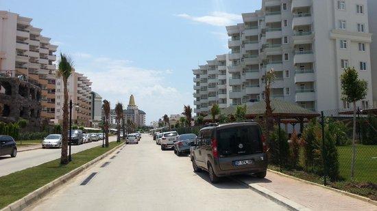 Lara Family Club : Hotel view