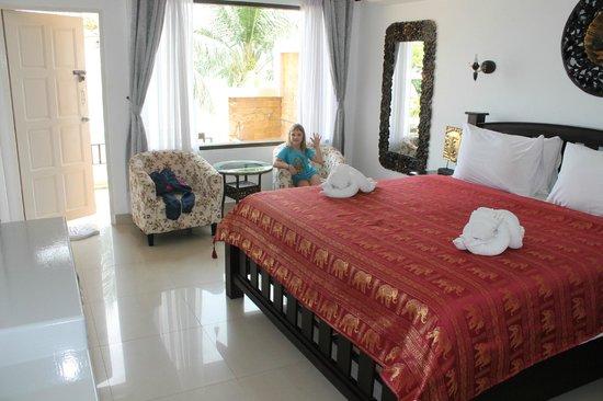 Crystal Bay Beach Resort: Номер изнутри