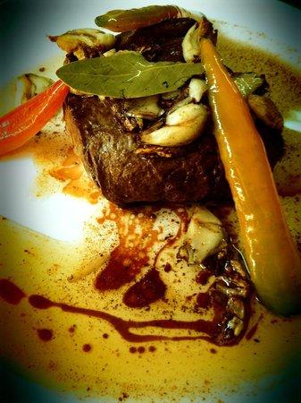 Vasku's Grill Vila Alice : Bife com molho Texano