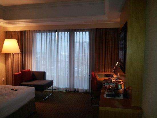 Novotel Singapore Clarke Quay: Room - window