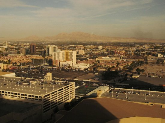 Planet Hollywood Resort & Casino: View from the 37th floor