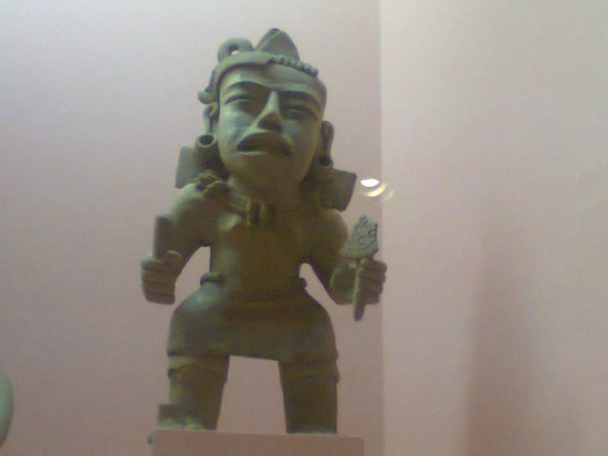 Rufino Tamayo Museo de Arte Prehispanico de Mexico: Экспонат Музея Руфино Тамайо в Оахаке