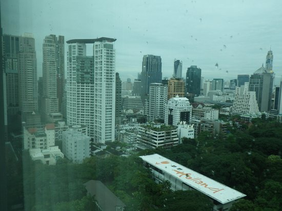 Oriental Residence Bangkok: View from balcony #1