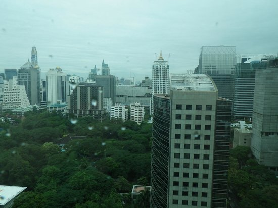 Oriental Residence Bangkok: View from Balcony #2