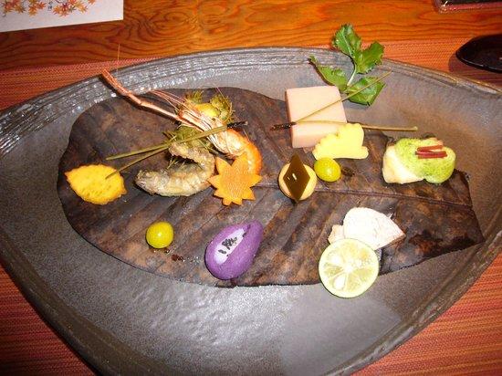 Oyado Nagomino: dinner