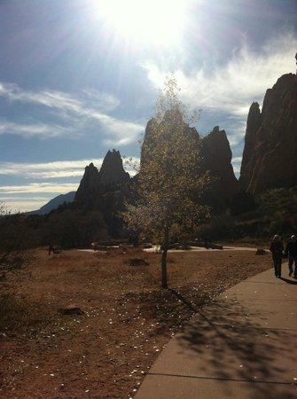 Jardín de los dioses (Garden of the Gods): The path