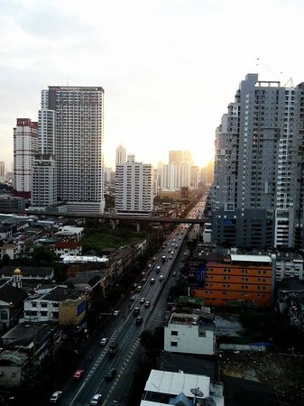 View from Bangkok City Hotel's room
