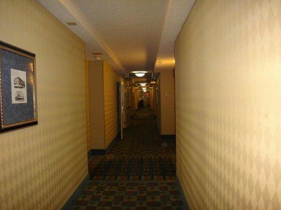 Hilton Pasadena: 廊下