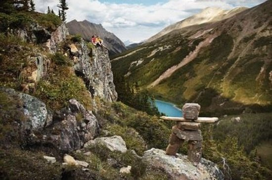 Kanadische Rockies, Kanada: Hiking in summer - Banff National Park