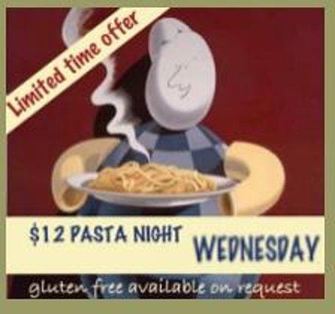 Zia Teresa Restaurant: Weekly offer