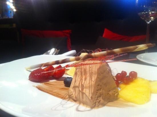 Grand Hotel Regina Grindelwald: exquisite dessert