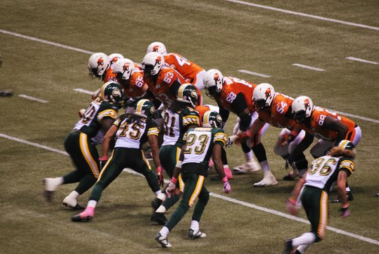 B.C. Place Stadium: BC Lions game against the Edmonton Eskimos