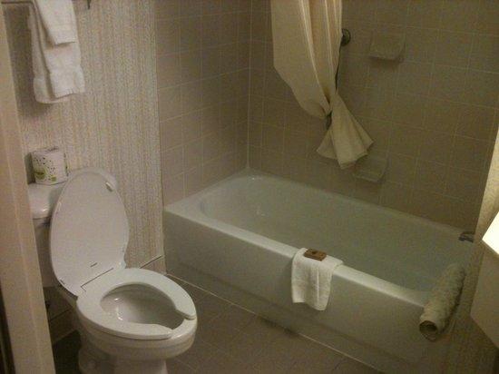 Best Western Plus Boston Hotel: Banheiro, com a típica banheira
