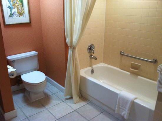Palm Beach Shores Resort and Vacation Villas: tub separate from shower