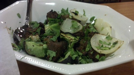 KADAI Indian Grill & Biryani House: Lamb kebab