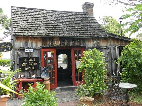 Crucial Coffee Cafe St Augustine Fl