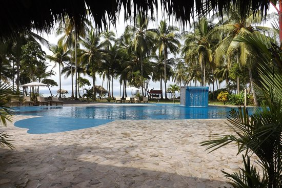 Clandestino Beach Resort : pool view looking out to the beach